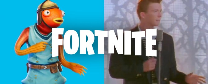 "Fortnite will allow to silence ""Rickroll"" emote due to copyright"