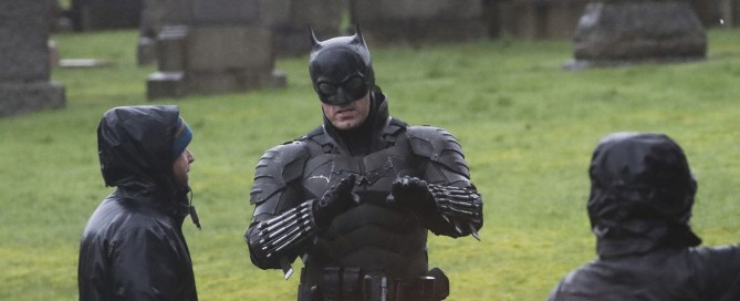 There are new images of Pattinson's Batman: see it completely