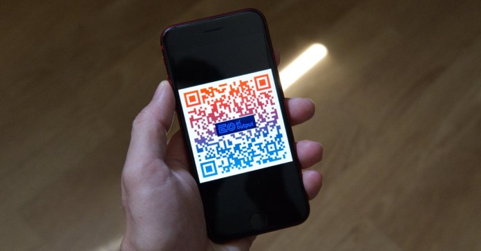 So you can take advantage of the use of QR codes at home