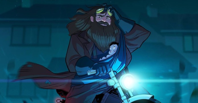 If they made a Harry Potter animated series, make it look like this