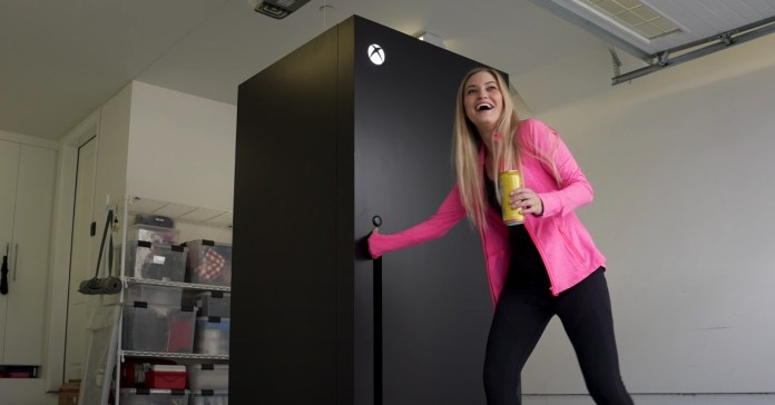 Xbox Series X becomes a real refrigerator