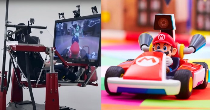 Now you can feel inside Mario Kart with this motorized cockpit