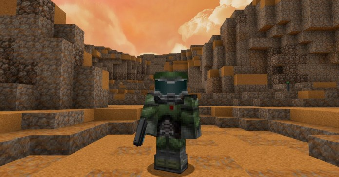 DOOM takes new life in Minecraft with this remake