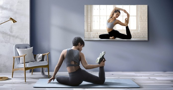 Samsung Health: your Smart TV as a personal trainer