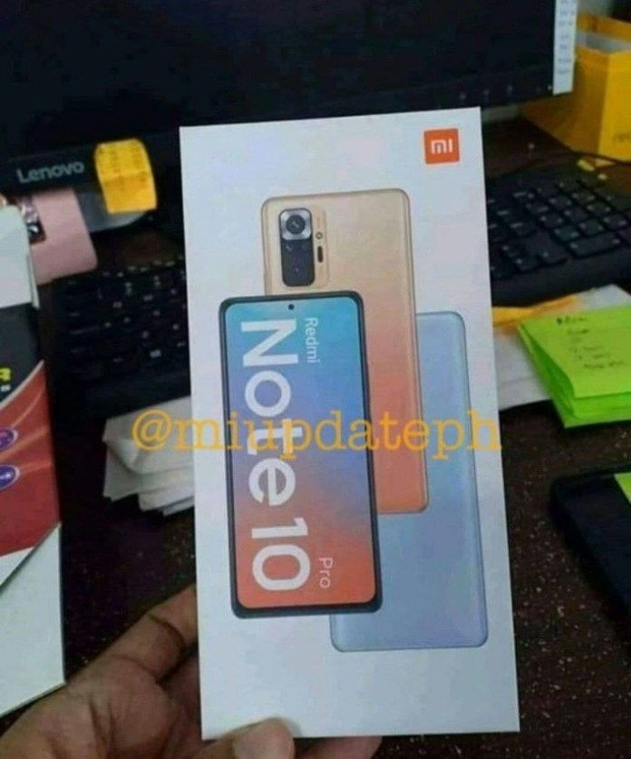 The alleged case of the Redmi Note 10 Pro