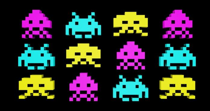 Why are the enemies in Spaces Invaders octopus and squid?