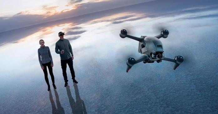 With the new DJI drone you will fly like (combat) birds
