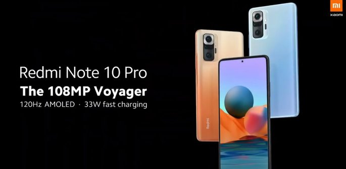 Official design of Redmi Note 10