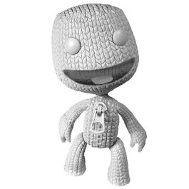 LittleBIGPlanet 9-Inch Blank White SackBoy DIY Action Figure