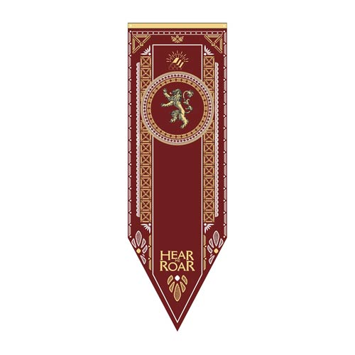 Game of Thrones Lannister Tournament Banner  Calhoun