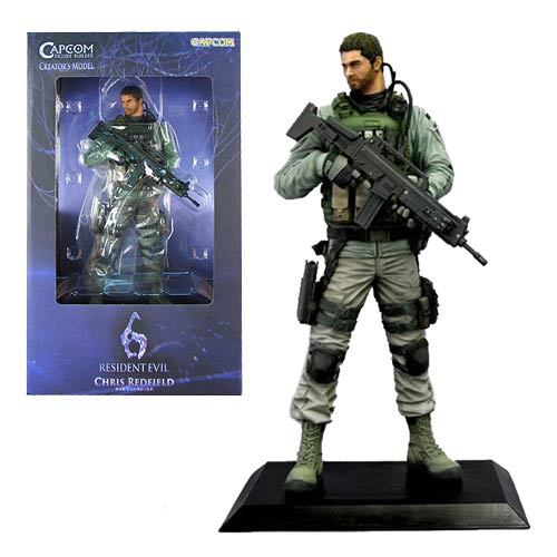 Chris Capcom Action Figure