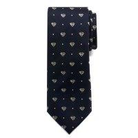 Superman Pin Dot Boys Large Silk Tie - Cufflinks Inc ...