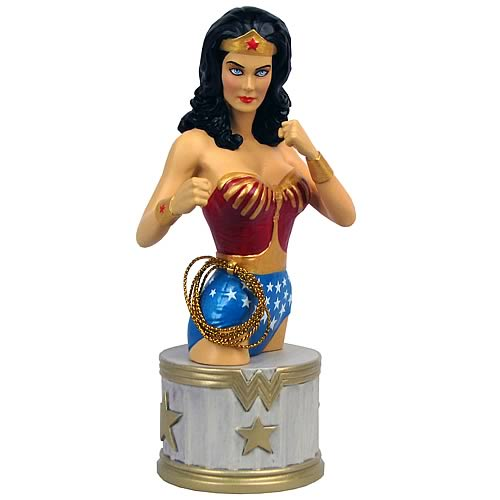 Wonder Woman Lynda Carter Bust  DC Collectibles  Wonder Woman  Busts at Entertainment Earth