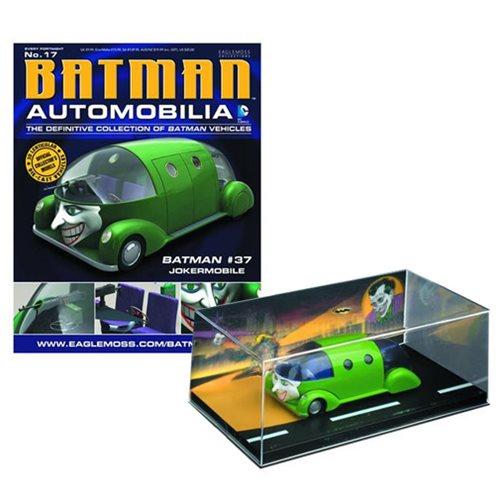 Batman #37 Jokermobile Die-Cast Metal Vehicle with Magazine