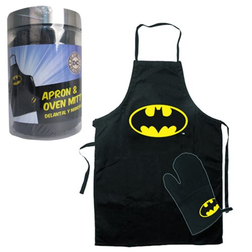 Batman Apron and Glove Set