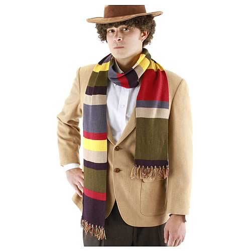 Doctor Who Fourth Doctor Short Scarf