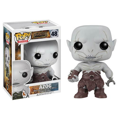 The Hobbit The Desolation of Smaug Azog Pop! Vinyl, Not Mint