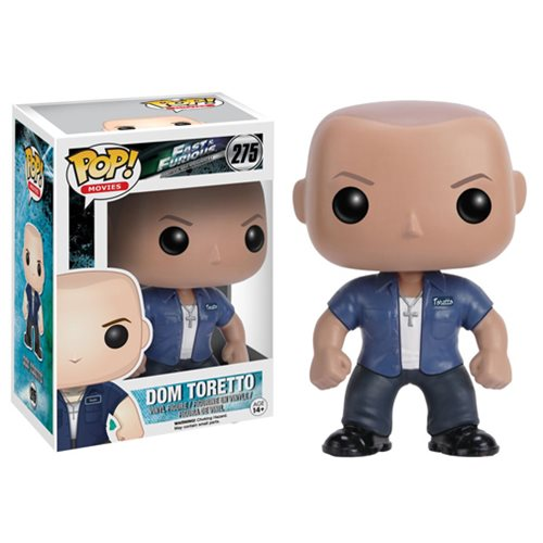 Fast and Furious Dom Toretto Pop Vinyl Figure  Funko