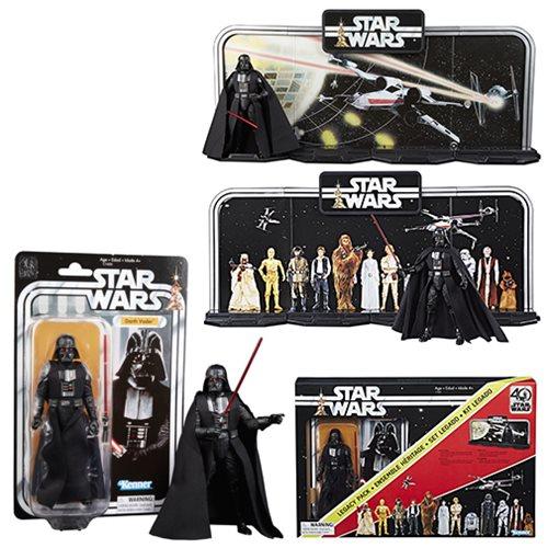 Star Wars Black Series Display Diorama Darth Vader Figure