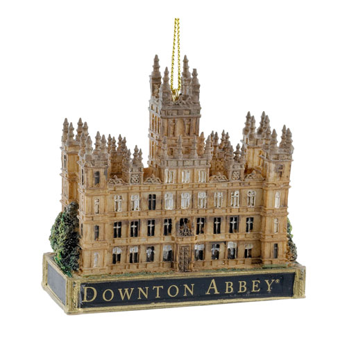 Downton Abbey Castle 3 1/2-Inch Holiday Ornament