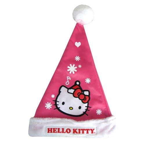 Hello Kitty Pink Santa Claus Hat