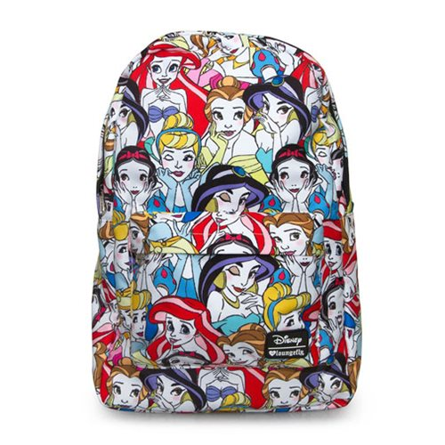 Disney Princesses Print Backpack