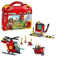 LEGO Juniors 10685 Fire Suitcase | Figure Action