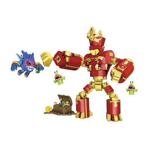 Mega Bloks Skylanders Arkeyan Robot King and Pop-Fizz Set