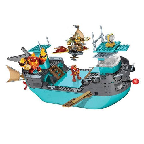 Mega Bloks Skylanders Flynn's Rescue Ship Construction Set