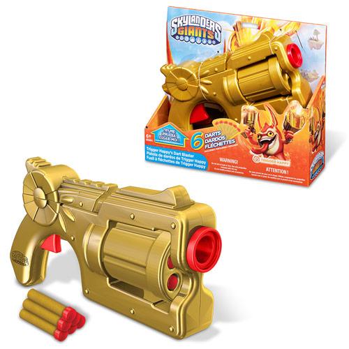 Mega Bloks Skylanders Trigger Happy's Dart Blaster
