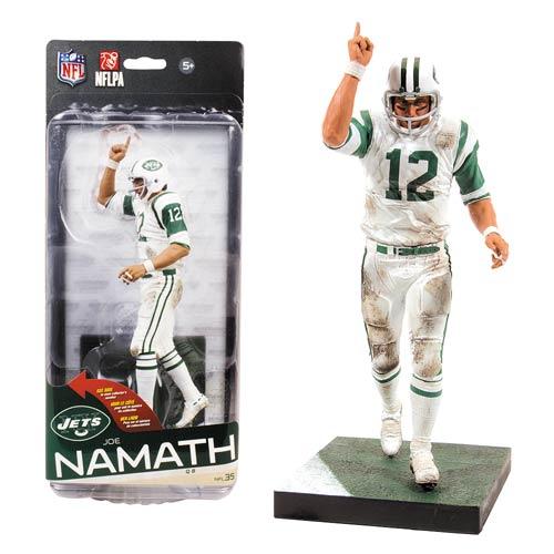 NFL Series 35 Joe Namath Action Figure  McFarlane Toys