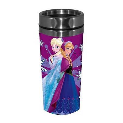 Disney Frozen Anna and Elsa 16 oz. Travel Mug