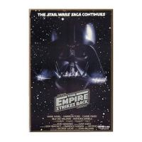 Star Wars The Empire Strikes Back Wood Wall Art - Silver ...