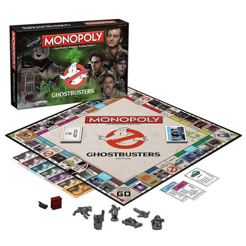 Ghostbusters Monopoly Game
