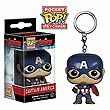 Avengers Captain America Pocket Pop! Vinyl Key Chain
