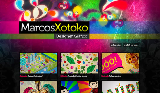 12 Colorful Website Design