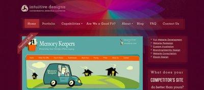 13 Colorful Webdesign