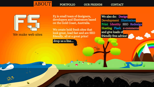 18 Colorful Website Design
