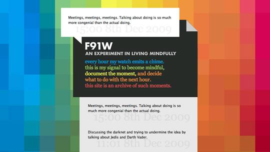 6 Colorful Website Design