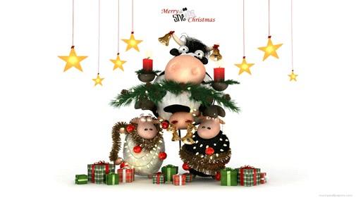 merry christmas desktop wallpaper