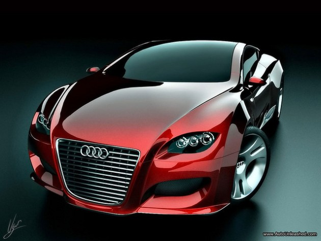 wallpaper audi locus concept car