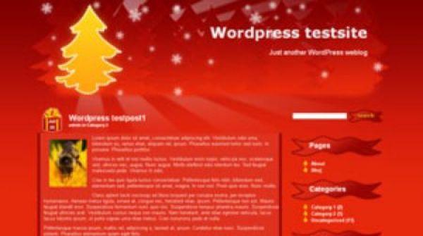'Christmas tree' theme