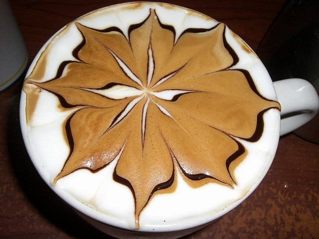 Latte Art Flower