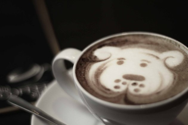 coffee - dog art