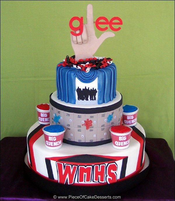 GLEE cake