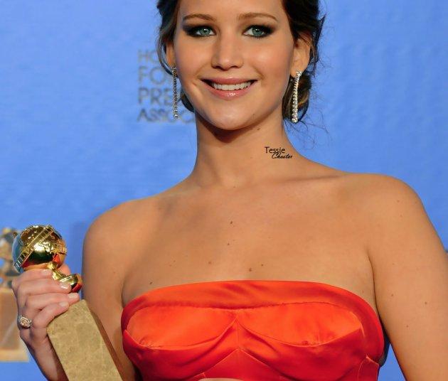 Jennifer Lawrence @ Golden Globes '13