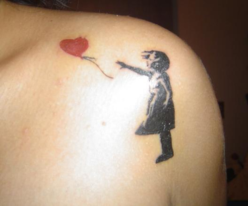 Banksy Girl