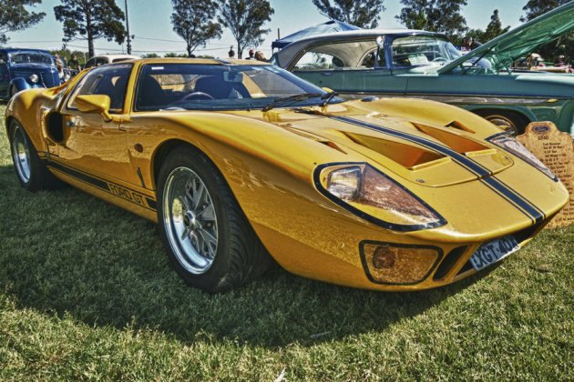 Ford GT40 HDR