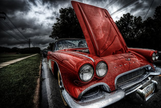HDR Old Corvette