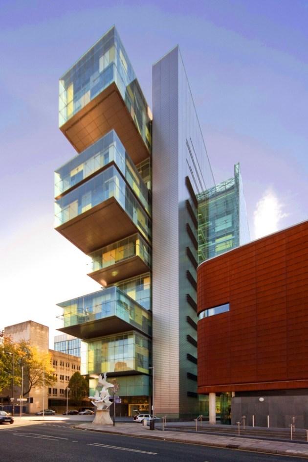 Manchester civil justice Centre (Manchester, United Kingdom)